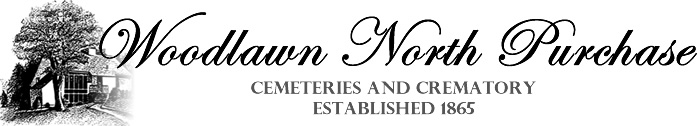 Woodlawn-North Purchase Cemeteries and Crematory Logo